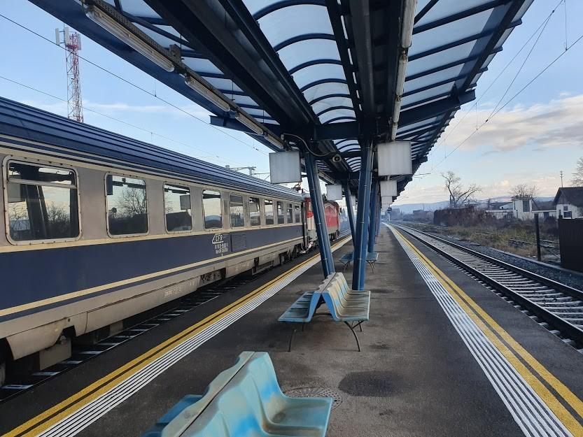 Night Train Journey To Romania