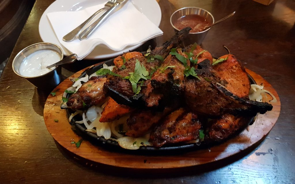 Indian Mixed Grill