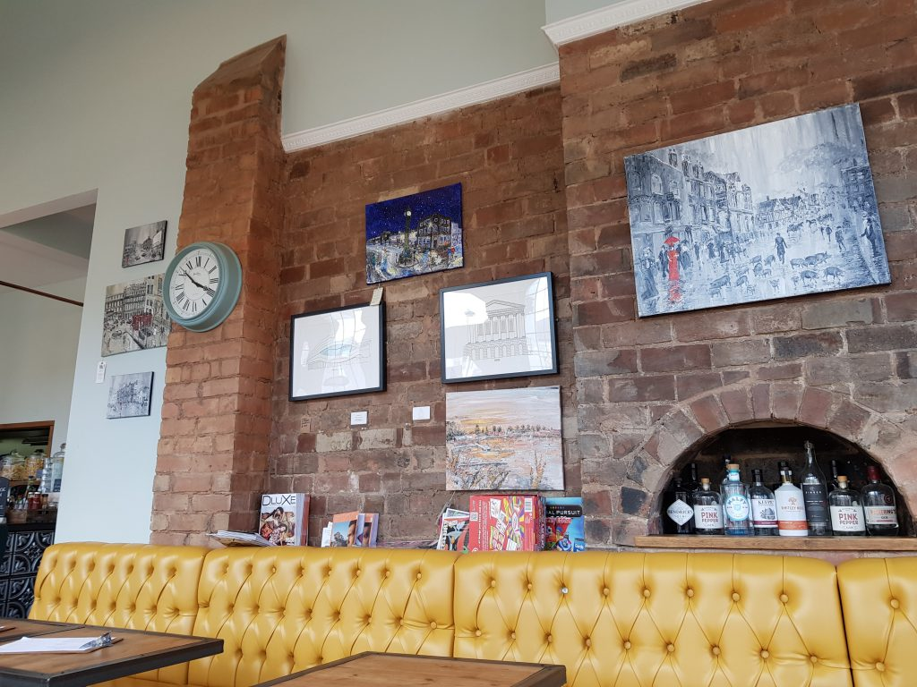 The Pig & Tail Interior