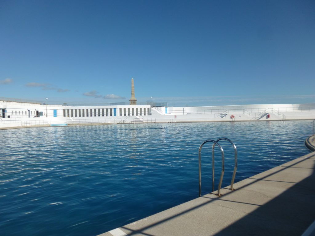 Outdoor swimming pool in Penzance