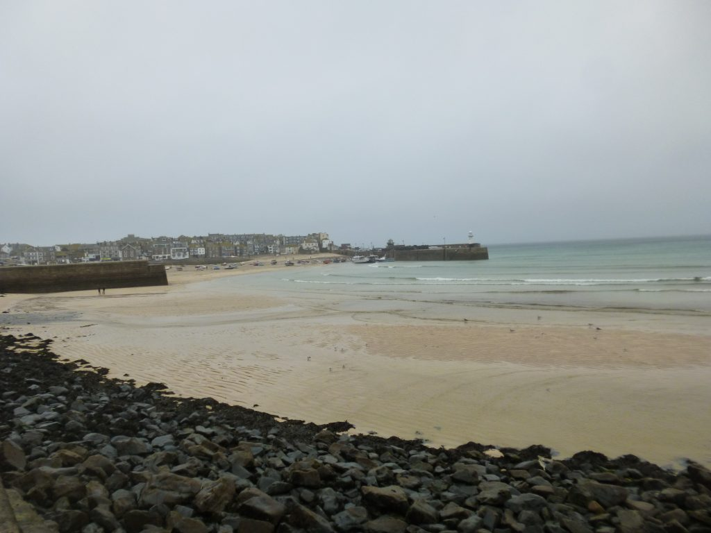 St Ives from Porthminster Beach