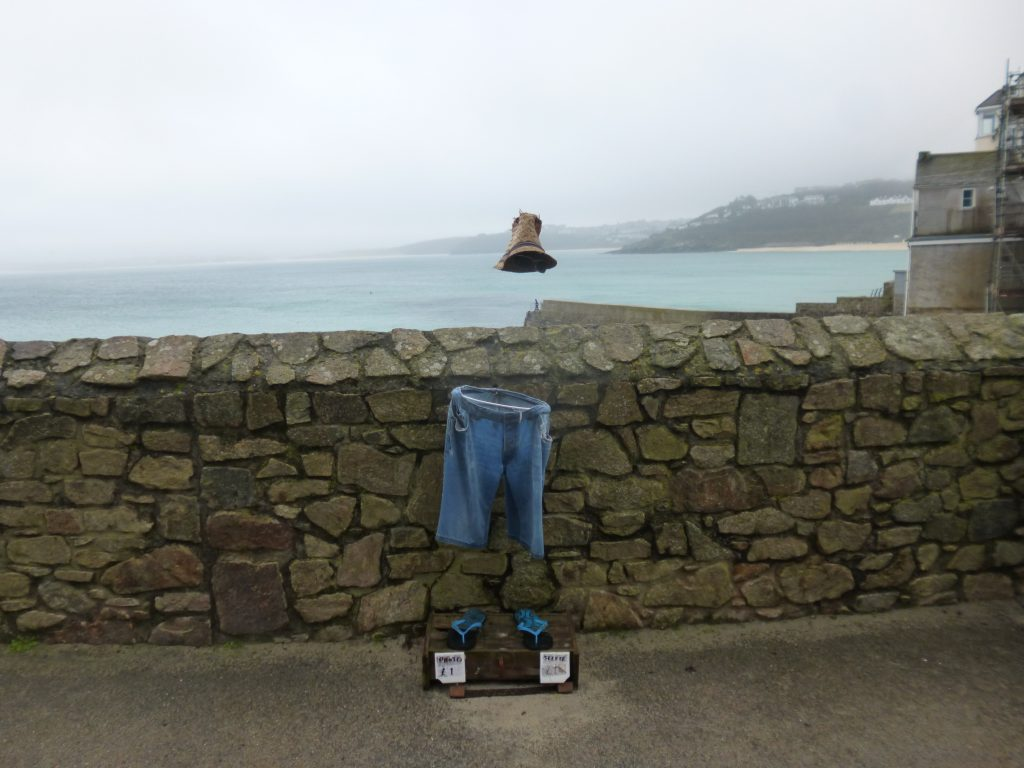 Art in St Ives, the invisible man
