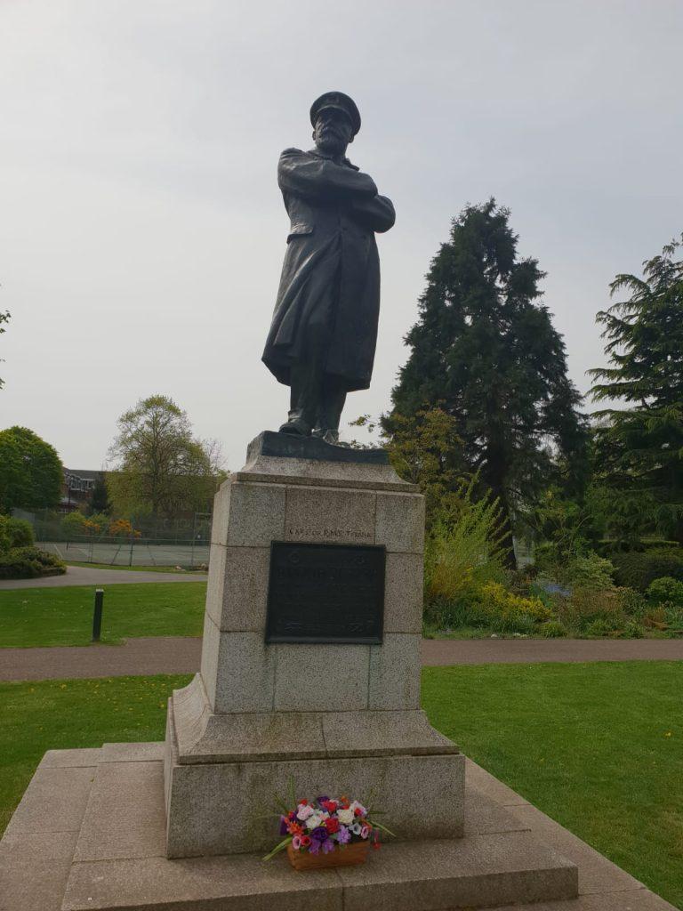 Captain Edward J. Smith, The Captain of The Titanic statue Lichfield