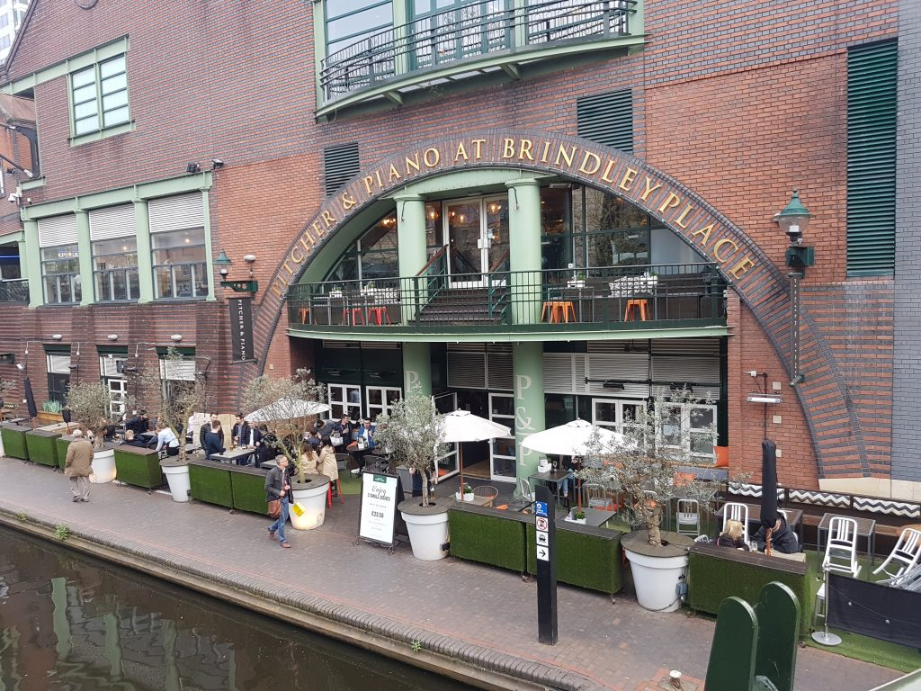 Pitcher & Piano at Brindley Place