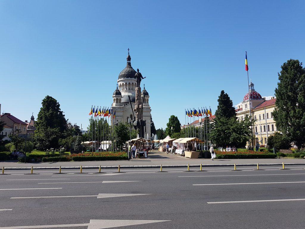 RJOnTourUK Visits Cluj Cathedral