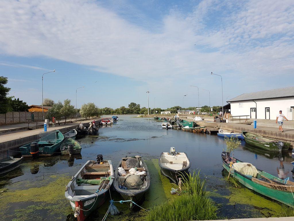 Fishing Boats at Sfantu Gheorghe