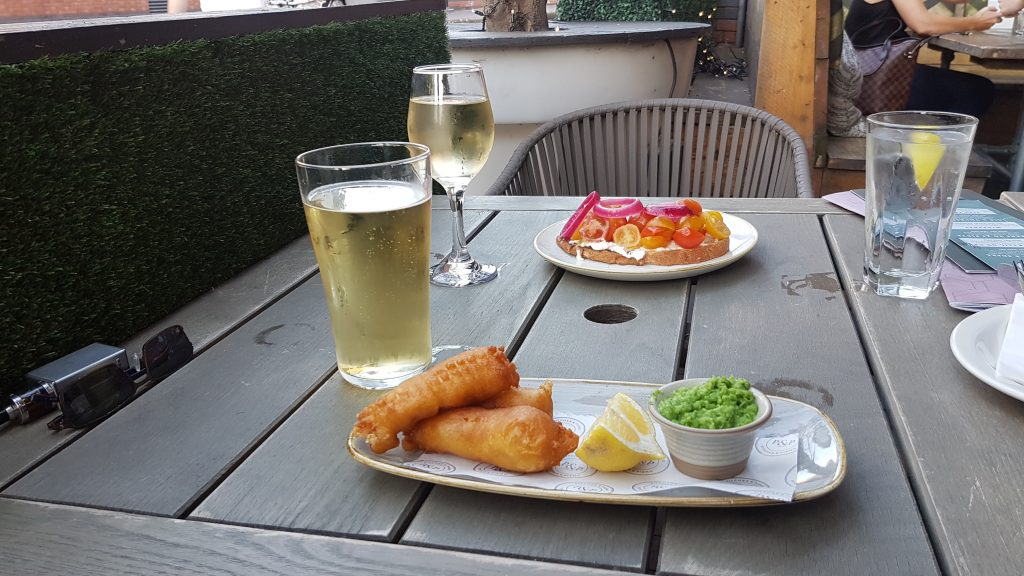 Starters at The Pitcher and Piano Birmingham