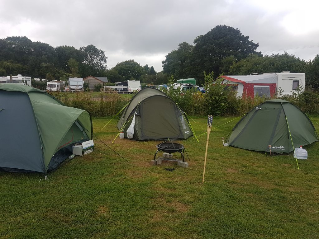 Greenacres campsite Coleford in The Forest of Dean