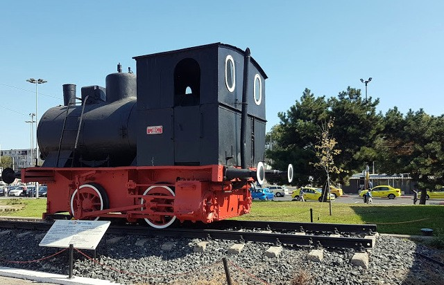 Constanta gara steam engine