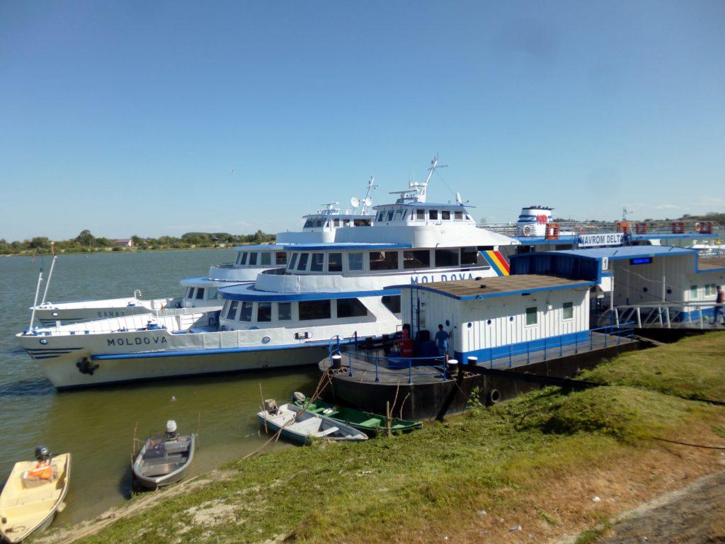 Navrom boat cruise on the Danube Delta