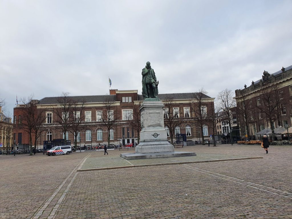 statue of William The Silent AKA William of Orange