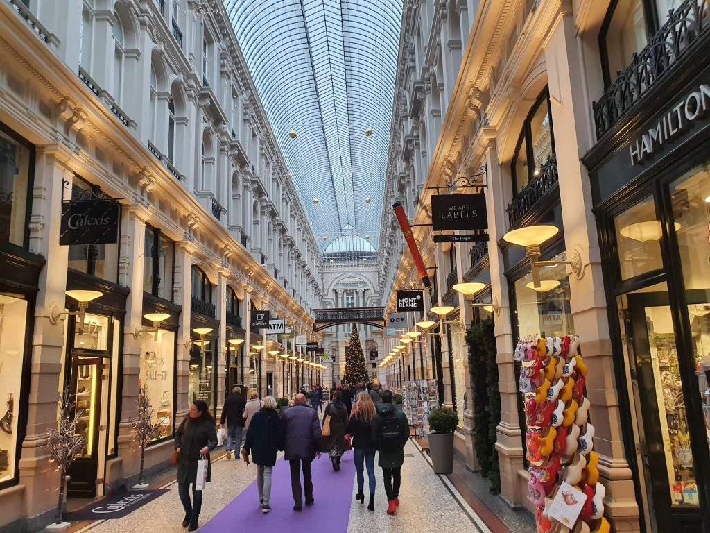 The Passage Shopping Arcade