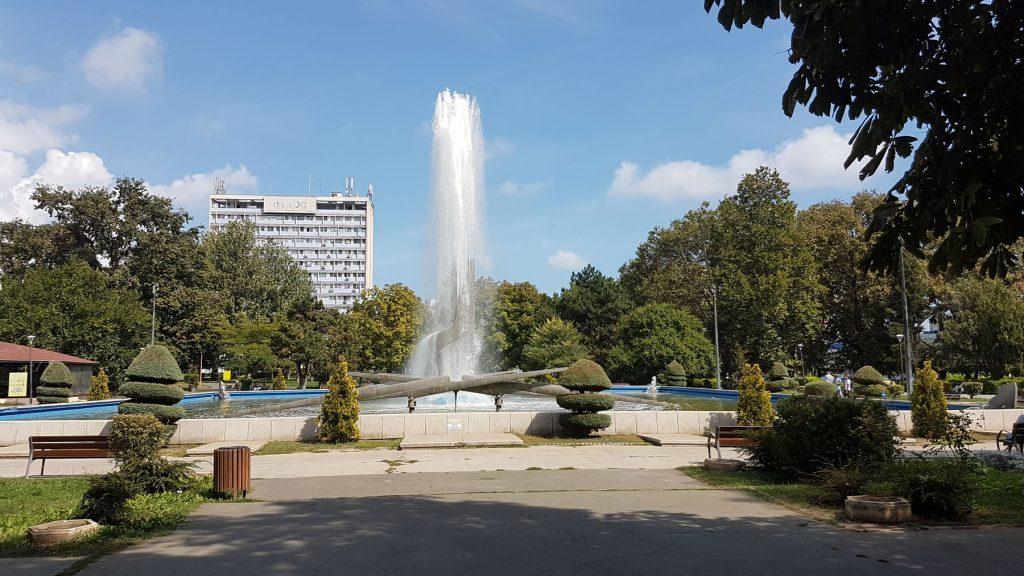 Parcul Gării Kinetic Fountain