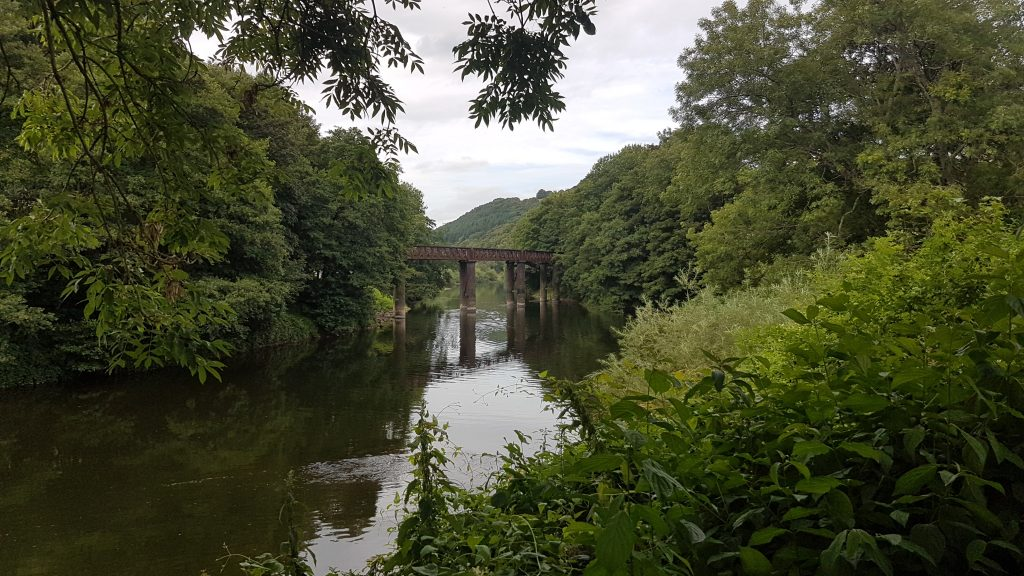 Redbrook Bridge across The River Wye