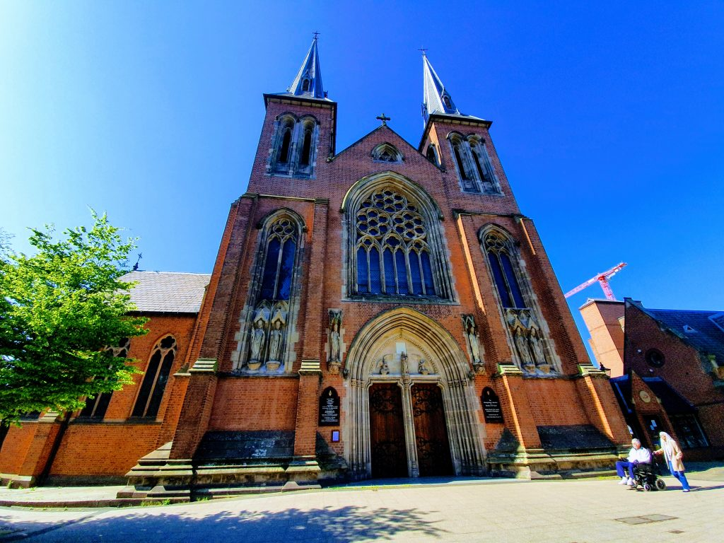 St Chad's Cathedral.