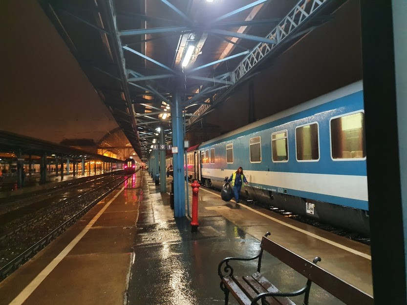 Budapest Station Platform