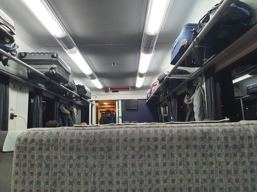 Dacia Express Night Train Carriage Vienna To Romania