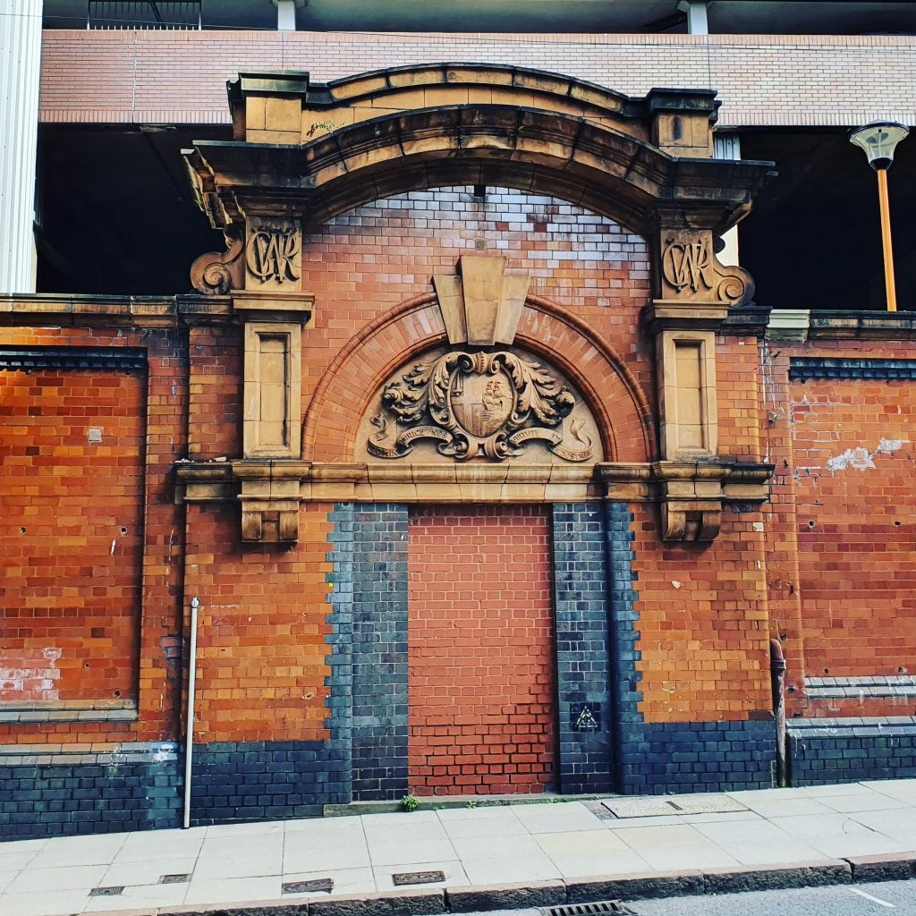 Snowhill Station old entrance