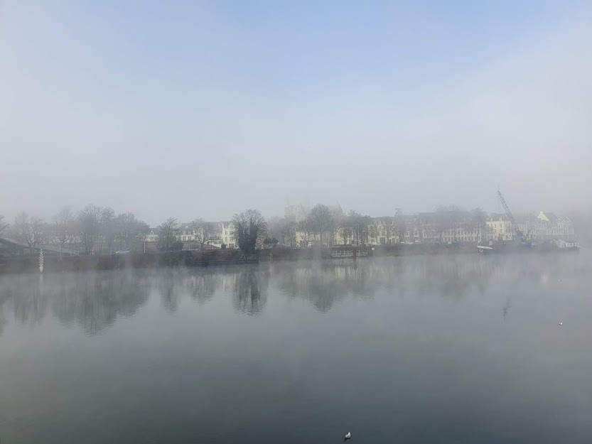 View Across The Maas River Photo