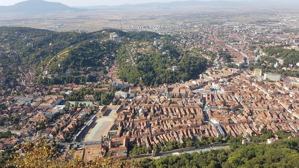 Brasov From Above