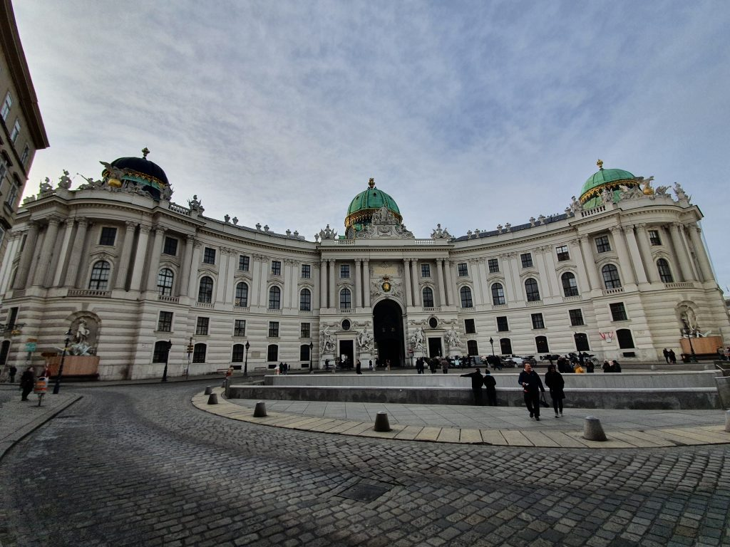 The St Michaels Wing - Hofburg Palace