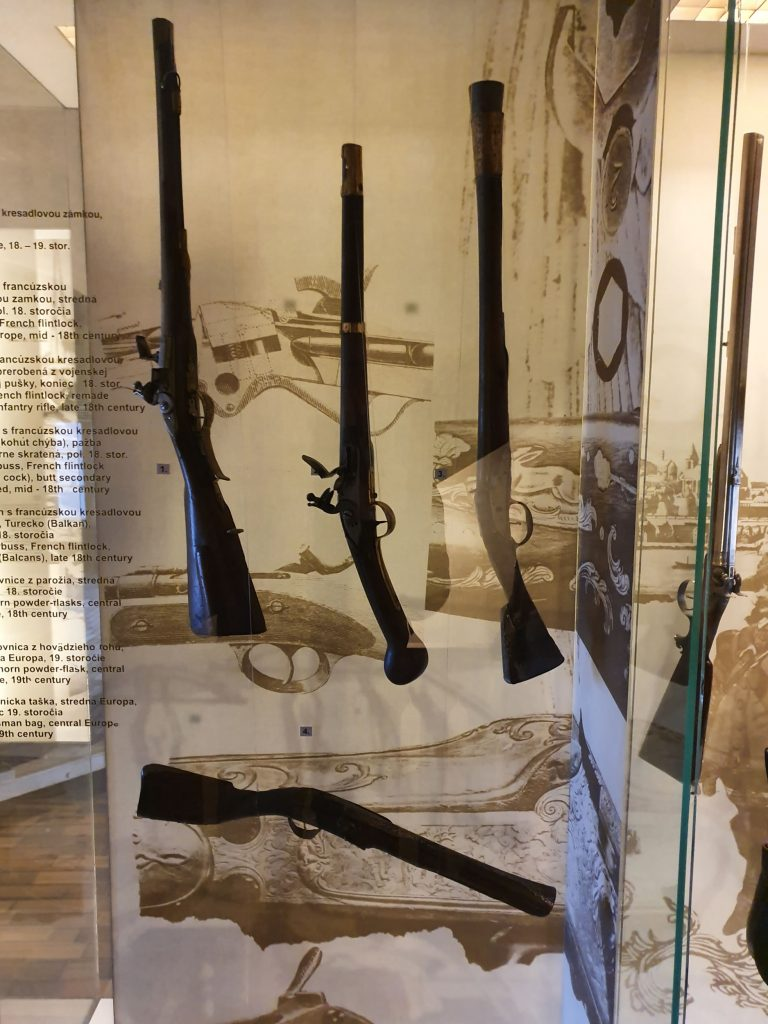 Rifles at The Arms Museum Bratislava