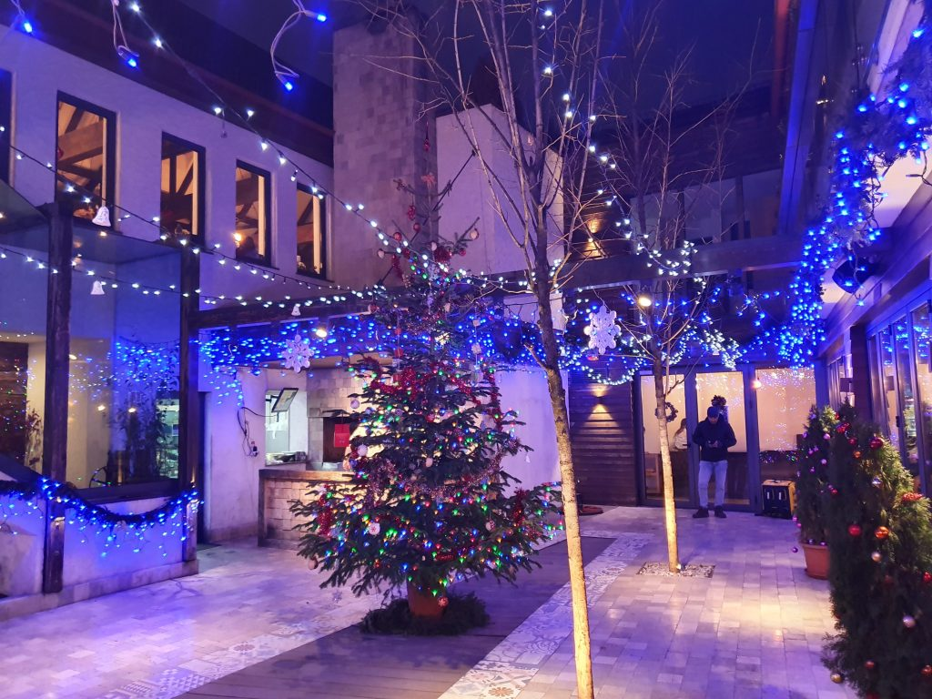 Christmas at Tudor restaurant Brasov
